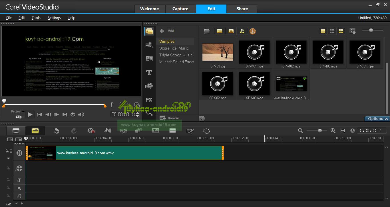 corel video studio templates download - contoh software html editor rommy 7081
