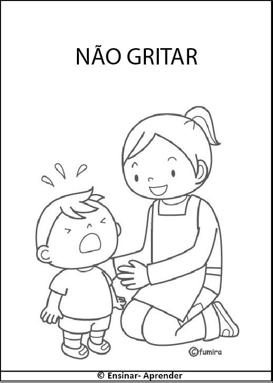 Professores: Orientação visual e leitura para creche