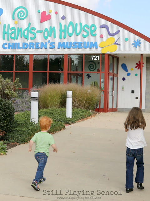 A teacher's tour of the Hands-on House Children's Museum in Lancaster