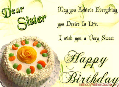 Happy Birthday images for Sister