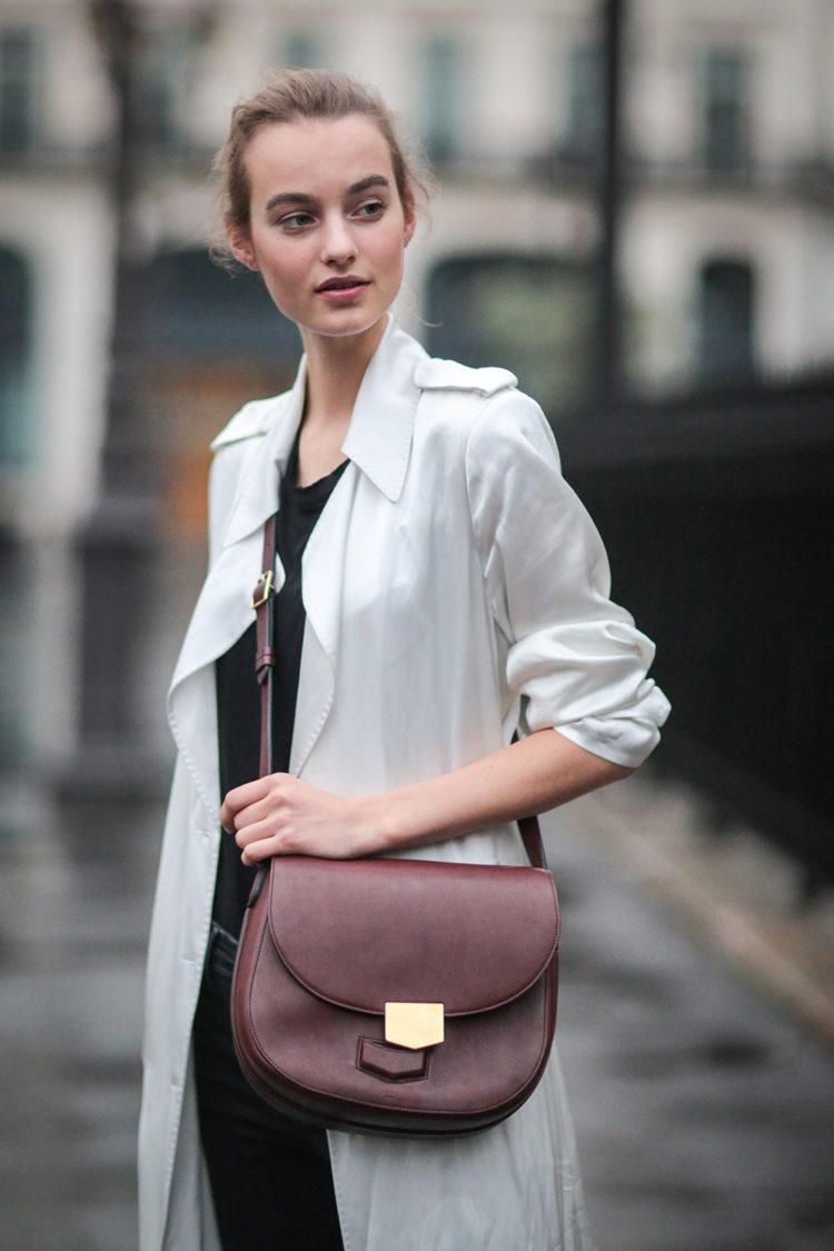 Street Style: Maartje Verhoef's Timeless Off-Duty Look