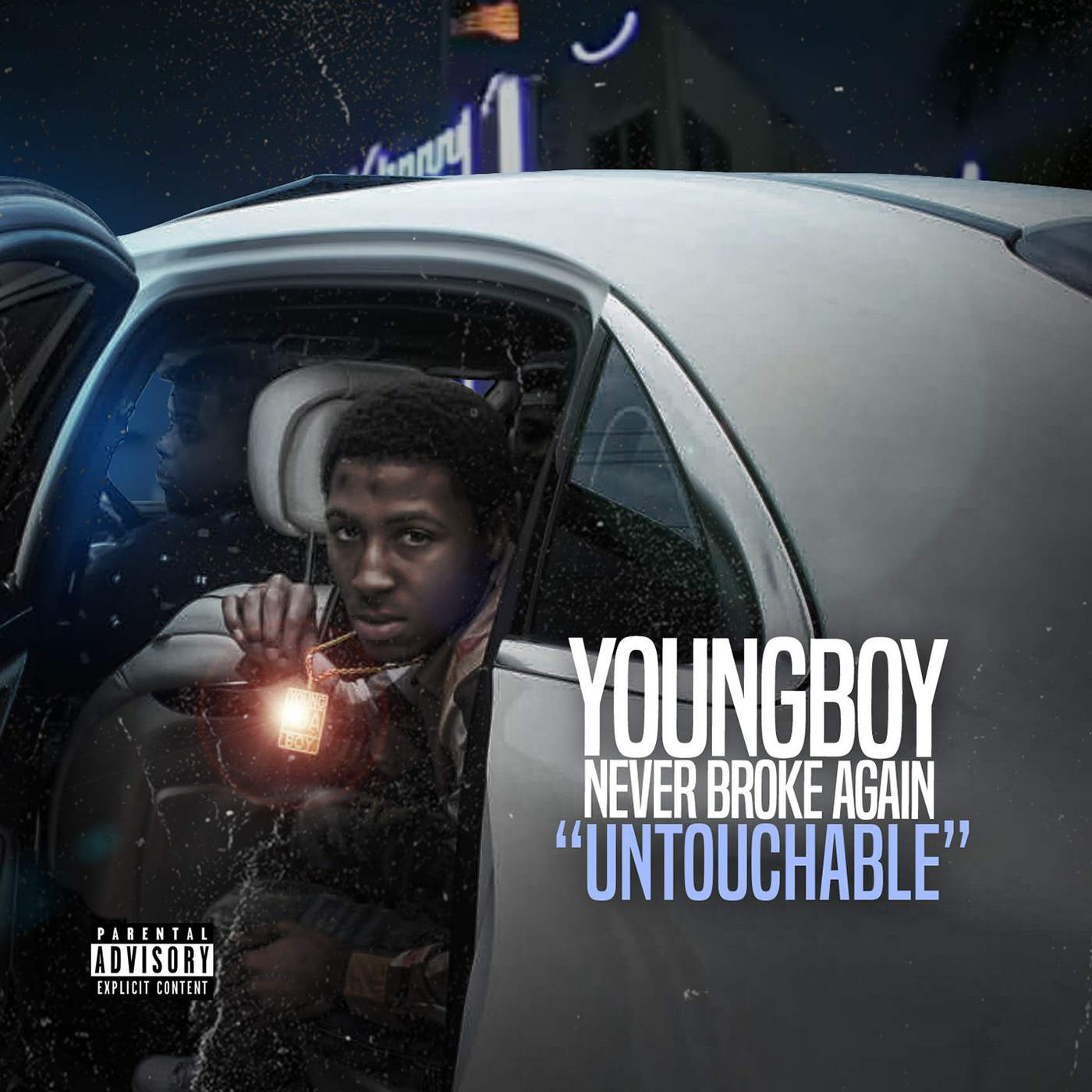 Youngboy Never Broke Again - Untouchable - Single Cover