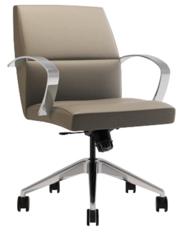 Neva Mid Back Executive Chair by Via Seating