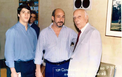 Paulo Marques e Ulysses Guimarães PMDB