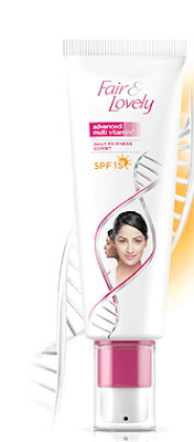 Fair & Lovely Multivitamin fairness cream with SPF 15