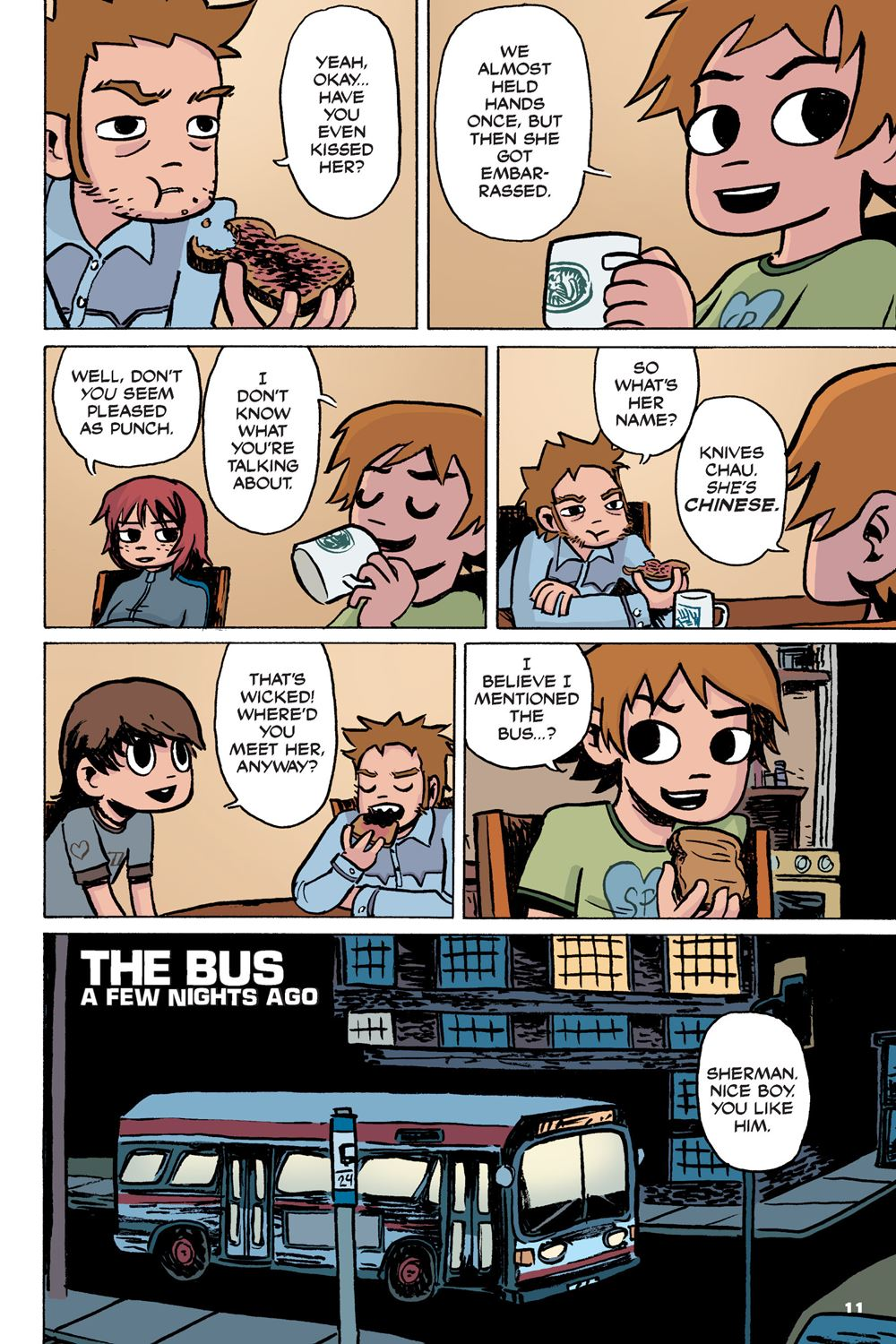 Pdf] download scott pilgrim color hardcover volume 1: precious littl….