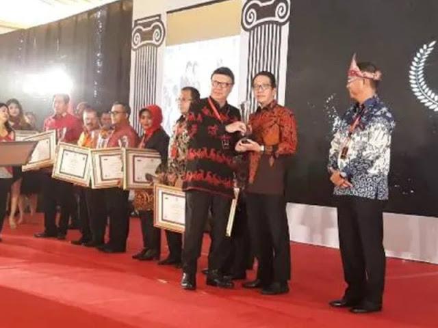 Kabupaten Pulau Morotai Terima Tiga Penghargaan Tingkat Nasional.