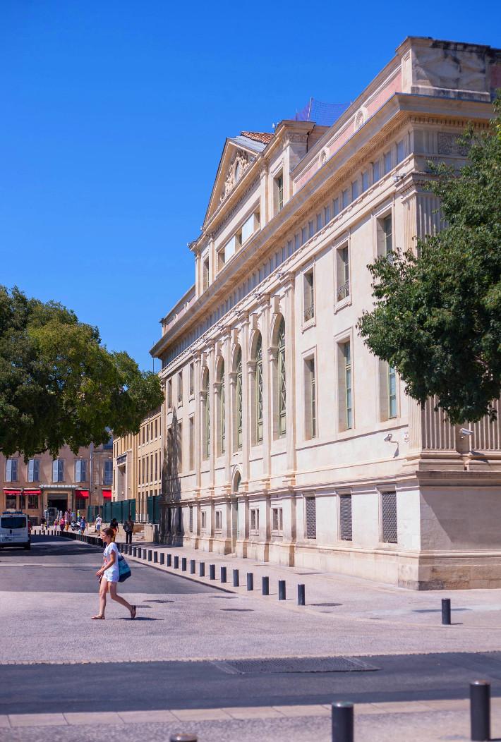 Nimes town hall