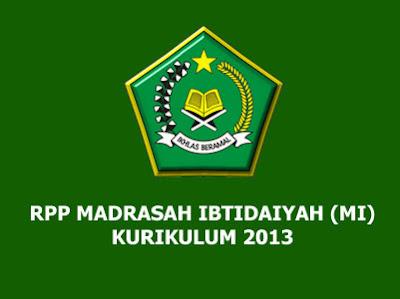 RPP Bahasa Arab Kelas 3 MI Kurikulum 2013