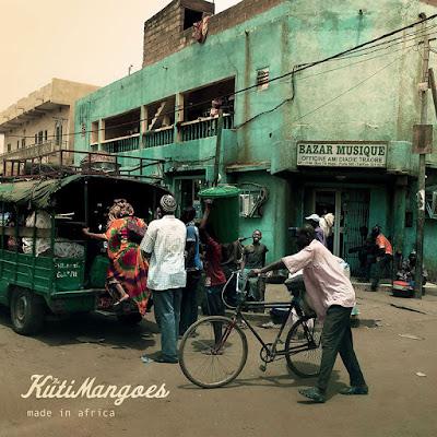KutiMangoes - Made in Africa album