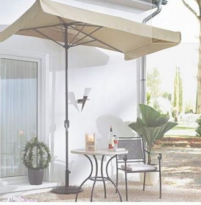 Halbe Sonnenschirme für Balkon zum Entspannen