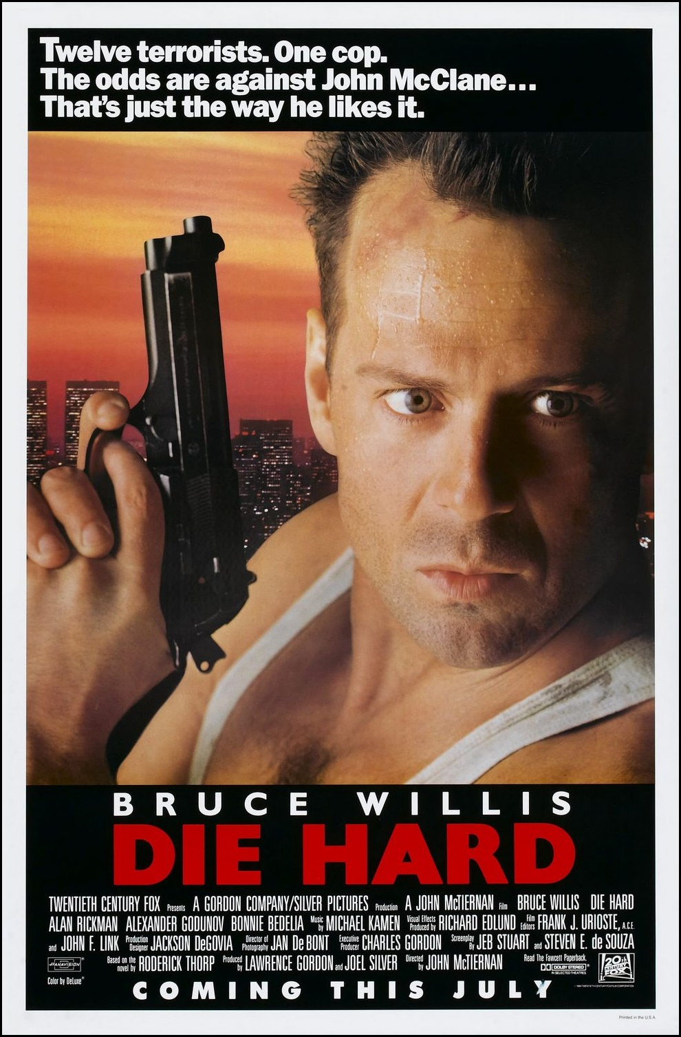 Chrichtonsworld Com Honest Film Reviews Review Die Hard 1988 Die Hard 2 1990 Die Hard With A Vengeance 1995 And Live Free Or Die Hard 2007