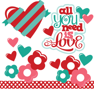 All You Need is Love by Miss Kate Cuttables