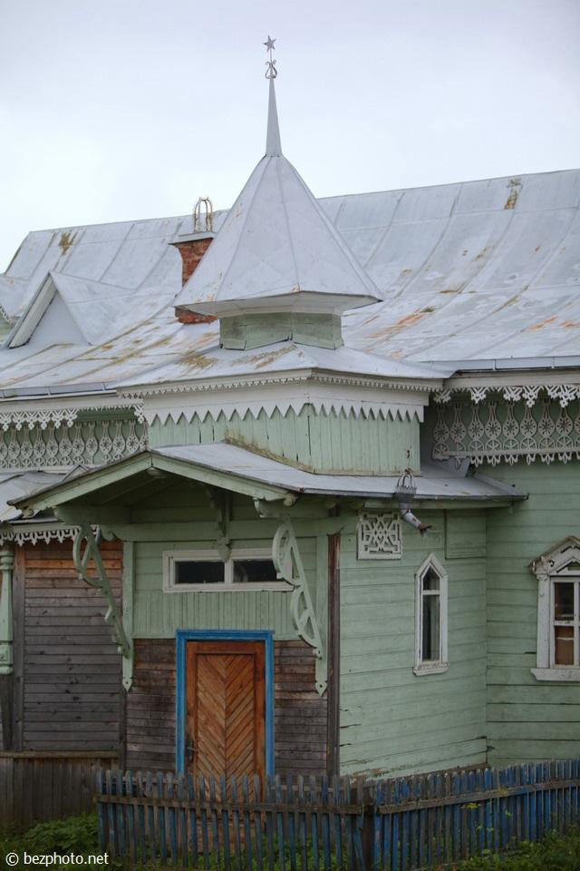 русский деревянный модерн