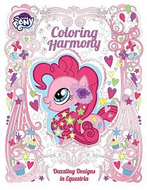 MLP Coloring Harmony: Dazzling Designs in Equestria Book Media