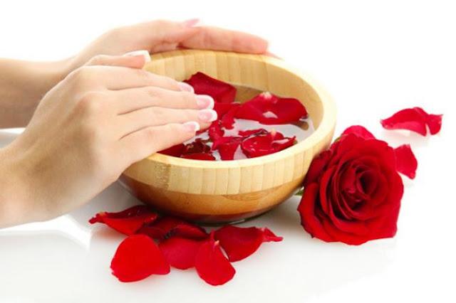 Rose Petals and Milk