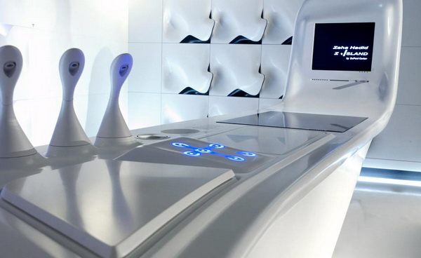 Ide Inspirasi Design Dapur Modern Futuristik