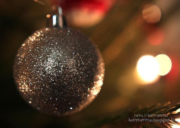 joulu 2016 koriste joulukoriste kuusenkoriste glitterpallo ikea