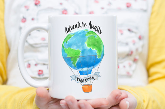15+ Of The Best Traveler Gift Ideas Besides Actual Plane Tickets - Adventure Awaits Mug