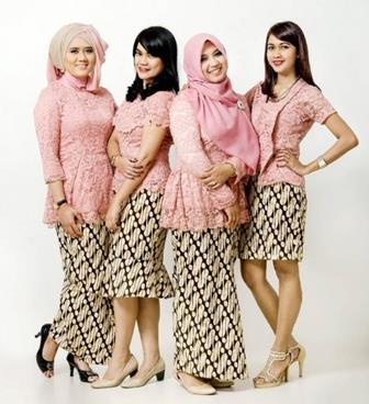 Baju Kebaya Muslim Untuk Remaja