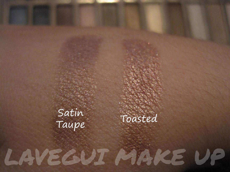 Lavegui Make Up: Paleta Naked (UD) VS Sombras Mac