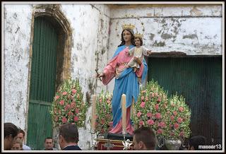 Resultado de imagen de Rosario de la Aurora con María Auxiliadora jerez