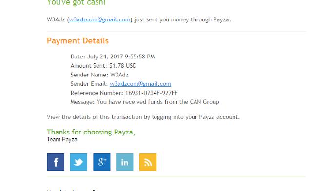 ( حصري PTC ) أفضل موقع للربح المال من الانترنت W3adz  | حد الادني 2 $ + الدفع فوري