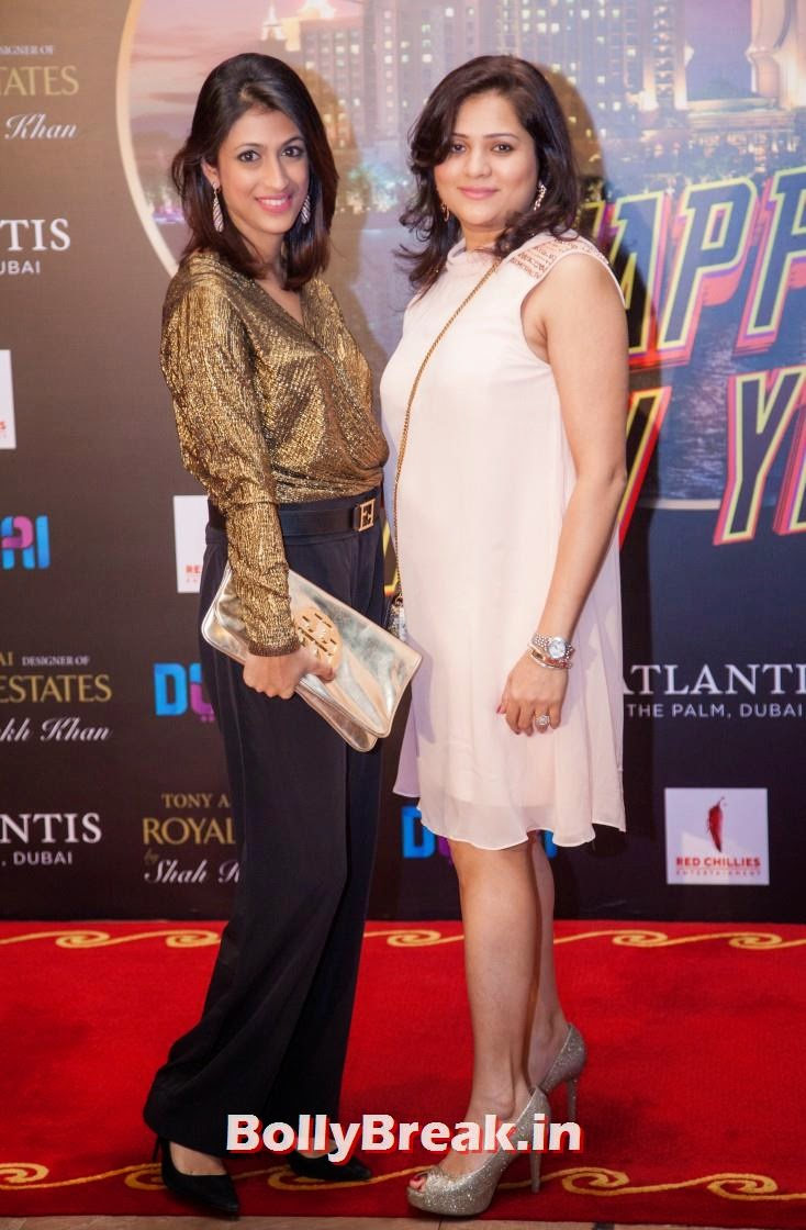 Guests at the event, Happy new Year Dubai Premiere Photos