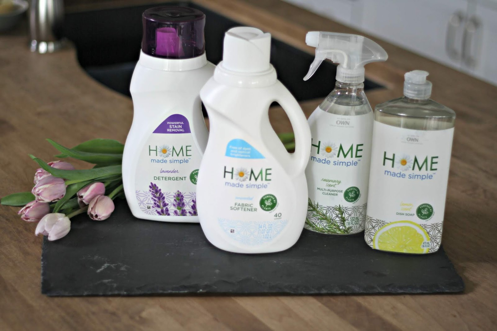 Home Made Simple plant-based cleaning products