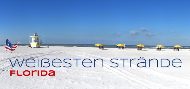 Weißesten Strände Florida's, Florida USA