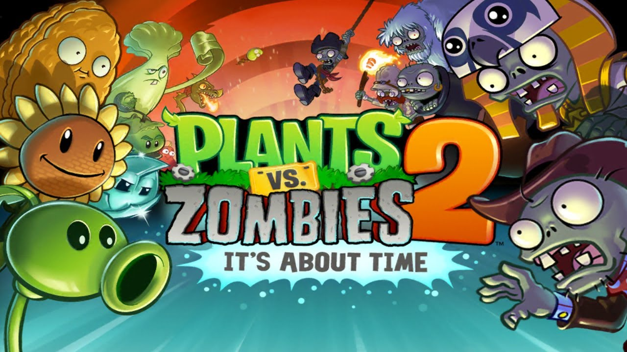 Plants vs. Zombies 2 v3.7.1 Apk MOD [Unlimited Coins Gems Keys] یاری بۆ ئهندرۆید: یاریهكه مۆد كراوه ههمو شتهكان فول كراوه