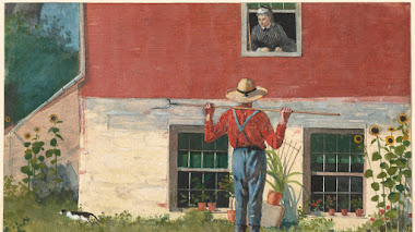 In the Garden (Rustic Courtship) de Winslow Homer