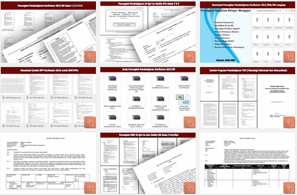Perangkat Pembelajaran Kurikulum 2013 Sisi Edukasi Klik