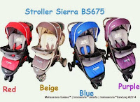 Kereta Bayi Creative Baby BS675 Sierra