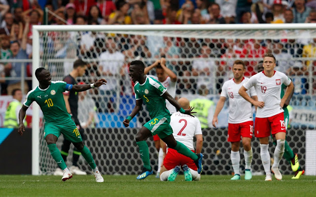 Senegal became the first African team to win their opener at the World Cup this tournament