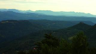 Paisagem do Belvedere do Vale do Quilombo, em Gramado