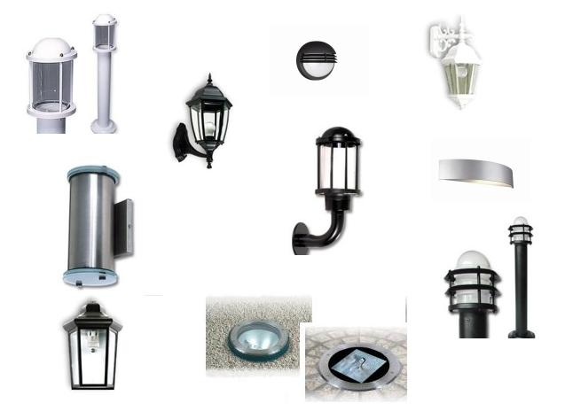 Iluminaci n decoractual dise o y decoraci n for Lamparas para exteriores de casas