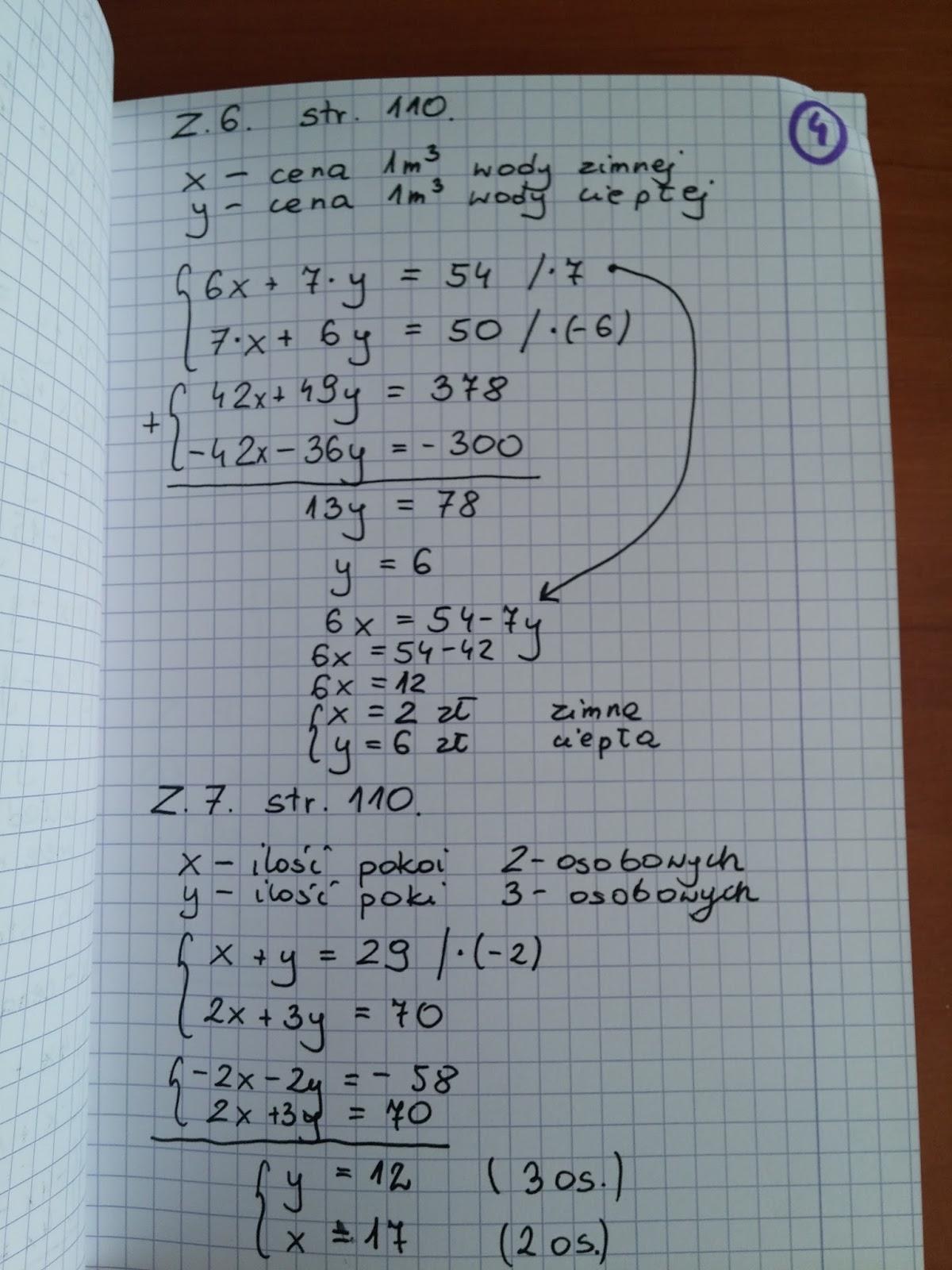 klasa 7 matematyka podręcznik