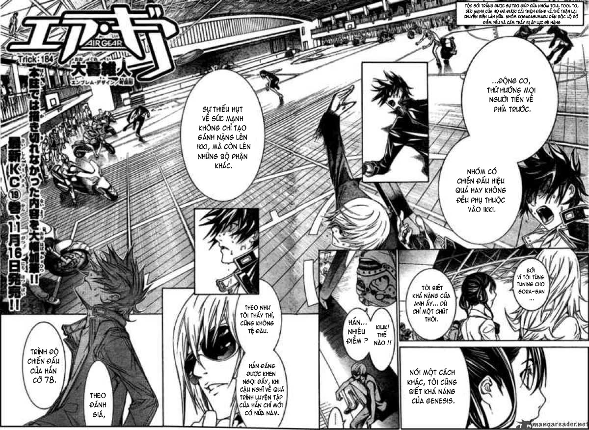 air gear Chap 184