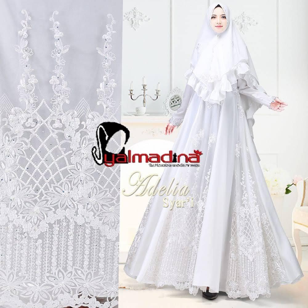 Adelia Premium Syari By Syalmadina Gerai Gamis Shafiyya Batik Couple