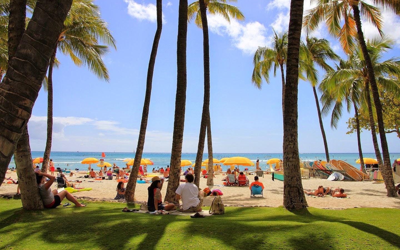 Waikiki Wallpaper: Beautiful Places Around The World