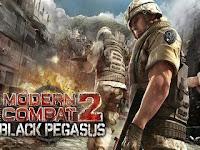 Modern Combat 2 Black Pegasus HD v1.0.2 Apk Full Mod Hack + Data OBB (Unlocked)