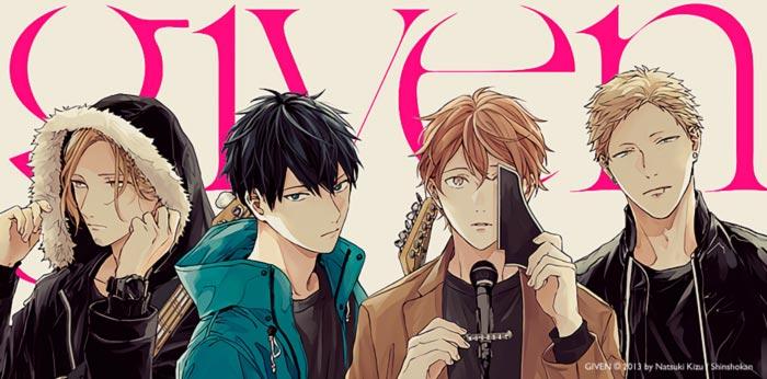Given - BL manga - Natsuki Kizu