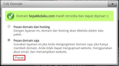 Tutorial Cara Membeli Domain di RumahWeb 2