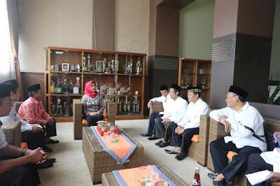 Pengurus FKUB dan DMI Audiensi dengan Walikota