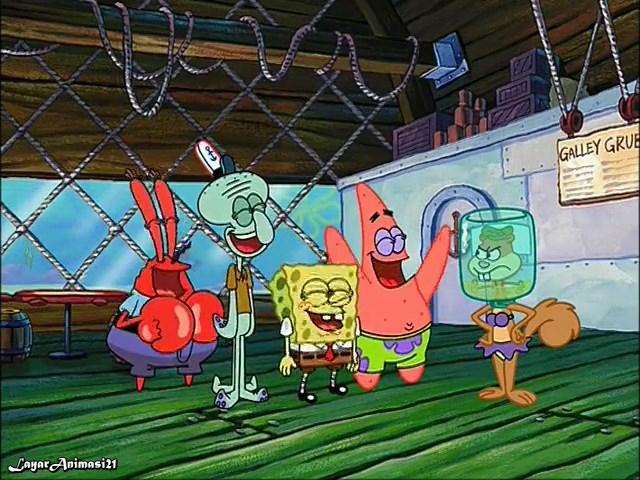 SpongeBob Season 2 Episode 12A - Pressure SD 480p Dub Indo
