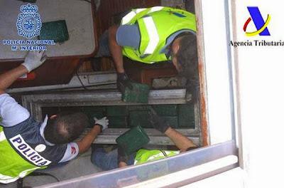 Interceptado velero con cocaína sur Canarias