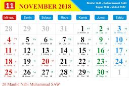 Tanggal-Tanggal Penting Kalender Islam 2019