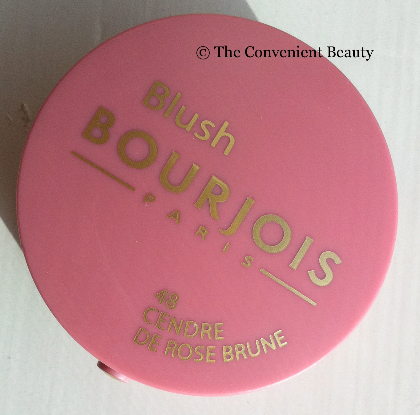 Image De Rose The Convenient Beauty Review Bourjois Blush 48 Le Cendre De Rose