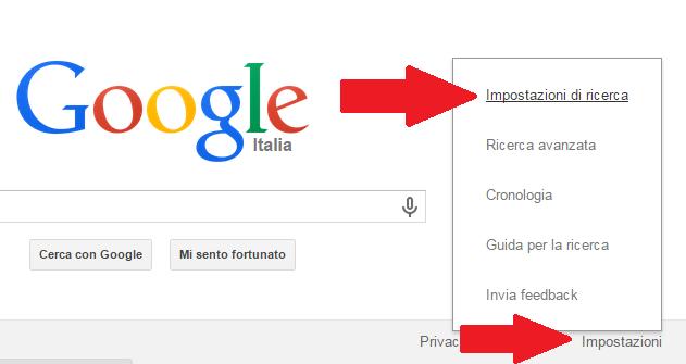 come cercare su google inglese